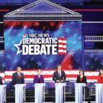 """El debate demócrata se anima con los """"pesos pesados"""" Biden y Sanders en EEUU"""