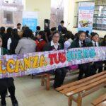 Juliaca: Escolares crean historias urbanas para prevenir consumo de droga