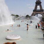 Francia bate su récord de altas temperaturas con 44.3 grados en el sur