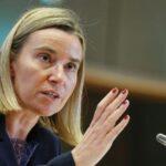 Mogherini confía en que su sucesor tenga fuerte experiencia en Exteriores
