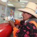 Pensión 65: Banco de la Nación atenderá este domingo a usuarios