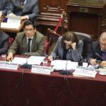 Ministro de Justicia sustentó reforma política ante Comisión de Constitución (VIDEO)