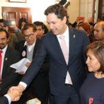 Daniel Salaverry inscribe candidatura y va por reelección a la Mesa Directiva (Video)