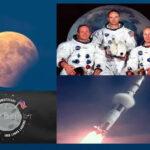 """La Luna """"celebra"""" hoy los 50 años del Apolo 11 con un eclipse parcial"""