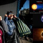 Chile: Eclipse solar comienza a ser visible tras atravesar el Pacífico