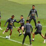 Copa América: Callens vuelve a entrenarse con Perú tras descartarse lesión