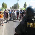 Caso Tía María: Fiscalía de Arequipa en alerta por anunciado paro