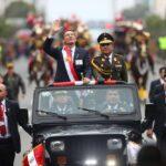 Fiestas Patrias: Presidente Vizcarra presidió Desfile Cívico-Militar (VIDEOS)