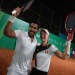 Lima 2019: Otra medalla de bronce en tenis dobles mixtos gana Perú