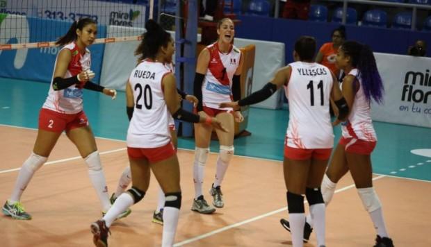 Perú se quedó con el tercer lugar del Sudamericano de Vóley 2019