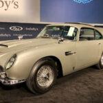 Mítico Aston Martin DB5 de James Bond fue subastado por 6,4 millones