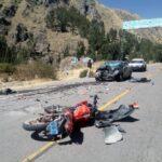 Cusco: Dos motociclistas mueren en accidentes de tránsito