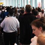 Caos por caída de sistema de verificación de pasaportes en aeropuertos de EEUU (Videos)