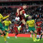 Premier League: Liverpool arranca el torneo con goleada de 4-1 al Norwich City