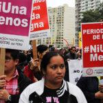 """Este sábado es marcha """"Ni Una Menos"""" con mayor cifra histórica de feminicidios"""