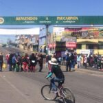 Tía María: Manifestantes bloquean varios tramos de la Panamericana Sur (VIDEO)