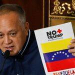 Cabello dice a EEUU que si quiere negociar tiene que hacerlo con Maduro