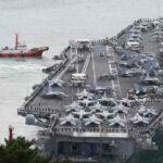 """EEUU luce poderío del """"USS Reagan"""" en las aguas disputadas con China"""