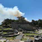Cierran acceso a zona arqueológica de Kuélap por incendio forestal