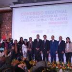 Cusco reúne a representantes de 15 países en el Congreso Regional de Lenguas Indígenas