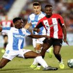 Liga Santander: Leganés de local consigue un empate (1-1) ante el Athletic de Bilbao