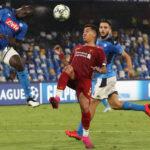 Champions League: Nápoles derrota 2-0 al campeón europeo Liverpool