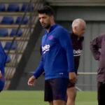 Barcelona: Luis Suárez se reincorpora a los entrenamientos para enfrentar al Valencia