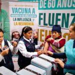 Minsa: Vacunación contra influenza continuará hasta fin de año