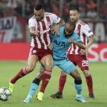 Champions League: Tottenham de visita empata 2-2 con el Olympiacos