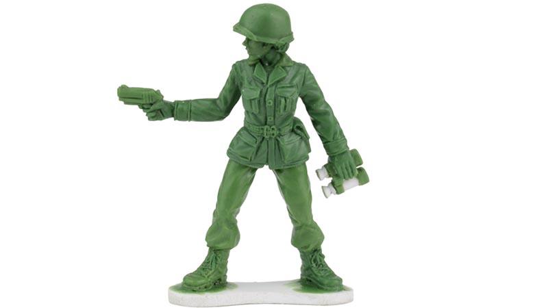 EEUU: Compañía venderá mujeres soldado de juguete en campaña de Navidad