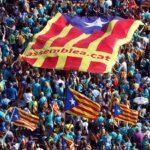 El independentismo catalán mide sus fuerzas en una multitudinaria marcha