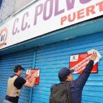 Municipalidad de La Victoria clausuró centro comercial Polvos Azules
