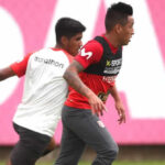 Selección peruana: Christian Cueva es recibido por Ricardo Gareca en la Videna
