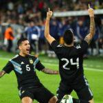 Argentina sin Lionel Messi y en gran reacción iguala 2-2 con Alemania