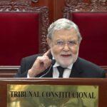 Presidente del TC: Posibilidad de restituir el Congreso disuelto es remota