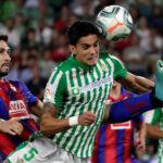 Liga Santander: Betis en partido de la octava jornada empata 1-1 con el Eibar