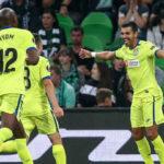 Copa Europa. Getafe líder del Grupo G al vencer de visita por 2-1 al Krasnodar