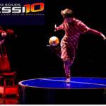 Cirque du Soleil une en su nuevo espectáculo la magia del circo y la de Messi
