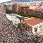La manifestación independentista de Barcelona reúne medio millón de personas (video)