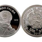 BCR lanza moneda alusiva al centenario del fallecimiento de Ricardo Palma