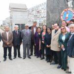 Día del periodista: ANP realiza romería a mártires del periodismo (FOTOS Y VIDEO)