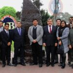 Homenaje a Jaime Bausate y Meza conmemorando el Día del Periodista