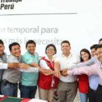 Ministra Cáceres: Gobierno genera más de 2,500 empleos temporales en Madre de Dios