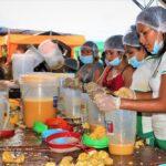 Satipo: Preparan el jugo de naranja más grande de Junín
