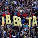 El independentismo catalán vuelve a la calle por la libertad de sus líderes