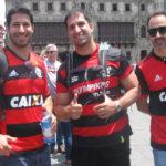 River Plate vs Flamengo: Hinchas del 'Mengao' no olvidan a Paolo Guerrero