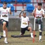 Perú vs Colombia: La bicolor entrena bajo copiosa lluvia en Miami