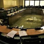 Se inunda Consejo Regional italiano después de rechazar medidas contra cambio climático