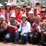 Ministra Cáceres: Población debe vigilar que proyectos se ejecuten sin corrupción