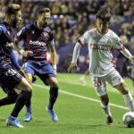 Liga Santander: Levante en la decimocuarta jornada gana 2-1 al Mallorca